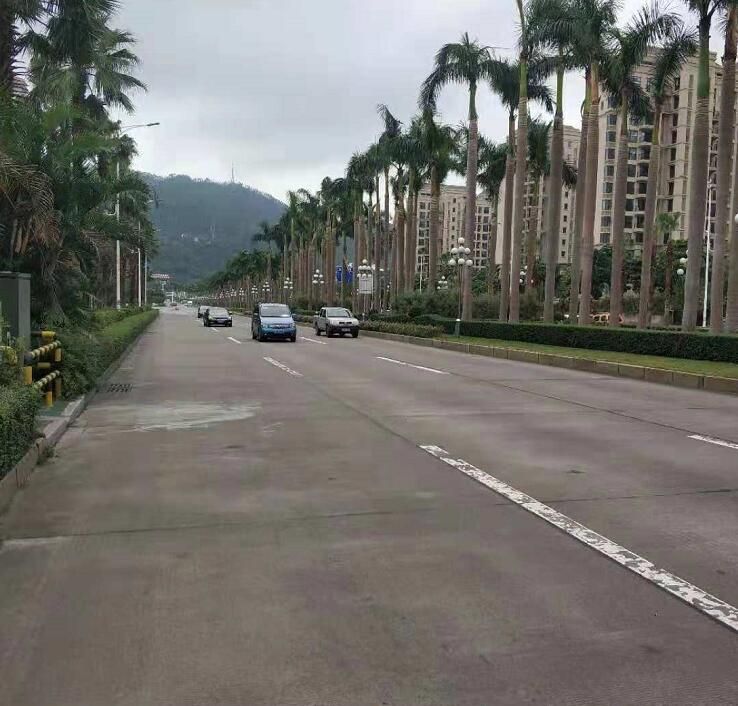 珠海市机动车辆污染监控管理所固定水平式机动车遥感监测点案例现场